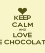 KEEP CALM AND LOVE BANANAS W/ WHITE CHOCOLATE  IN A PANCAKE!!!! - Personalised Poster A4 size