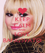 KEEP CALM AND LOVE BANGSVATO - Personalised Poster A4 size