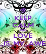 KEEP CALM AND LOVE BASEBALL_IS_MY_AWESOME_LIFE - Personalised Poster A4 size