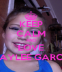 KEEP CALM AND LOVE BAYLEE GARCE - Personalised Poster A4 size