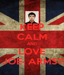 KEEP CALM AND LOVE BILLY JOE- ARMSTRONG - Personalised Poster A4 size