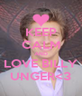 KEEP CALM AND LOVE BILLY UNGER<3 - Personalised Poster A4 size