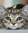 KEEP CALM AND LOVE BIMBLE - Personalised Poster A4 size