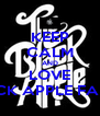 KEEP CALM AND LOVE BLACK APPLE FAMILY - Personalised Poster A4 size