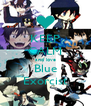 KEEP CALM and love Blue Exorcist - Personalised Poster A4 size