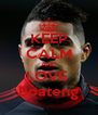 KEEP CALM AND LOVE  Boateng - Personalised Poster A4 size
