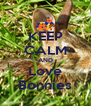 KEEP CALM AND Love Bonnies - Personalised Poster A4 size
