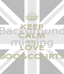 KEEP CALM AND LOVE BOO&COURTS - Personalised Poster A4 size