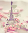KEEP CALM AND LOVE BOY FRIEND - Personalised Poster A4 size