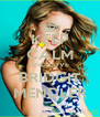 KEEP CALM AND LOVE BRIDGIT MENDLER - Personalised Poster A4 size