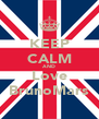 KEEP CALM AND Love BrunoMars - Personalised Poster A4 size