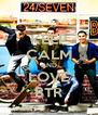 KEEP CALM AND LOVE BTR - Personalised Poster A4 size
