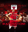 KEEP CALM AND LOVE BULLSNATION!! - Personalised Poster A4 size