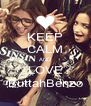 KEEP CALM AND LOVE ButtahBenzo - Personalised Poster A4 size