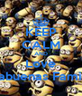 KEEP CALM AND Love Cabuenas Family - Personalised Poster A4 size