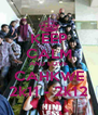 KEEP CALM AND LOVE CAHKWE 2k11 - 2k12 - Personalised Poster A4 size