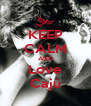 KEEP CALM AND Love Cajú - Personalised Poster A4 size