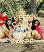 KEEP CALM AND LOVE CALPE - Personalised Poster A4 size