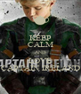 KEEP CALM AND LOVE CAPTAIN IRELAND - Personalised Poster A4 size