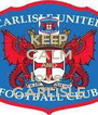 KEEP CALM AND love  CARLISLE - Personalised Poster A4 size