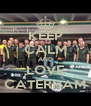 KEEP CALM AND LOVE CATERHAM - Personalised Poster A4 size