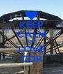 KEEP CALM AND LOVE CDR - Personalised Poster A4 size