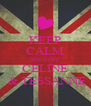 KEEP CALM AND LOVE CELINE  & TESSANNE - Personalised Poster A4 size