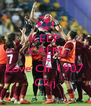 KEEP CALM AND Love Cfr 1907 Cluj - Personalised Poster A4 size
