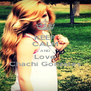 KEEP CALM AND Love Chachi Gonzales - Personalised Poster A4 size