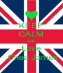 KEEP CALM AND Love  Chea James - Personalised Poster A4 size