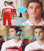 KEEP CALM AND LOVE  CHEERIO!BLAINE - Personalised Poster A4 size