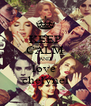 KEEP CALM AND love  chelynel - Personalised Poster A4 size