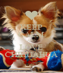 KEEP CALM AND LOVE CHIHUAHUA - Personalised Poster A4 size