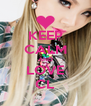 KEEP CALM AND LOVE CL - Personalised Poster A4 size
