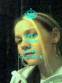 KEEP CALM AND LOVE  CLAIRE B - Personalised Poster A4 size