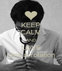 KEEP CALM AND LOVE clinical rotation - Personalised Poster A4 size