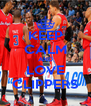 KEEP CALM AND LOVE CLIPPERS - Personalised Poster A4 size