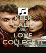KEEP CALM AND LOVE COLLEGE 11 - Personalised Poster A4 size