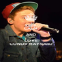 KEEP CALM AND LOVE CONOR MAYNARD - Personalised Poster A4 size