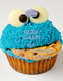 KEEP CALM AND LOVE COOKIES  AND CAKES - Personalised Poster A4 size