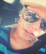 KEEP CALM AND LOVE DANA V. - Personalised Poster A4 size