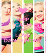 KEEP CALM AND LOVE DANCE MOMS - Personalised Poster A4 size