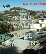 KEEP CALM AND LOVE DAVIANS - Personalised Poster A4 size