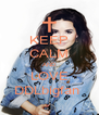 KEEP CALM AND LOVE DDLbigfan  - Personalised Poster A4 size