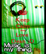 Keep Calm And Love  Dean :D - Personalised Poster A4 size