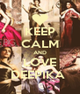 KEEP CALM AND LOVE DEEPIKA  - Personalised Poster A4 size