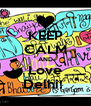 KEEP CALM AND Love Delhi!  - Personalised Poster A4 size