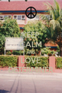 KEEP CALM AND LOVE DETERMINER - Personalised Poster A4 size