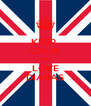 KEEP  CALM and LOVE DIABAS - Personalised Poster A4 size