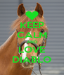 KEEP CALM AND LOVE DIABLO - Personalised Poster A4 size